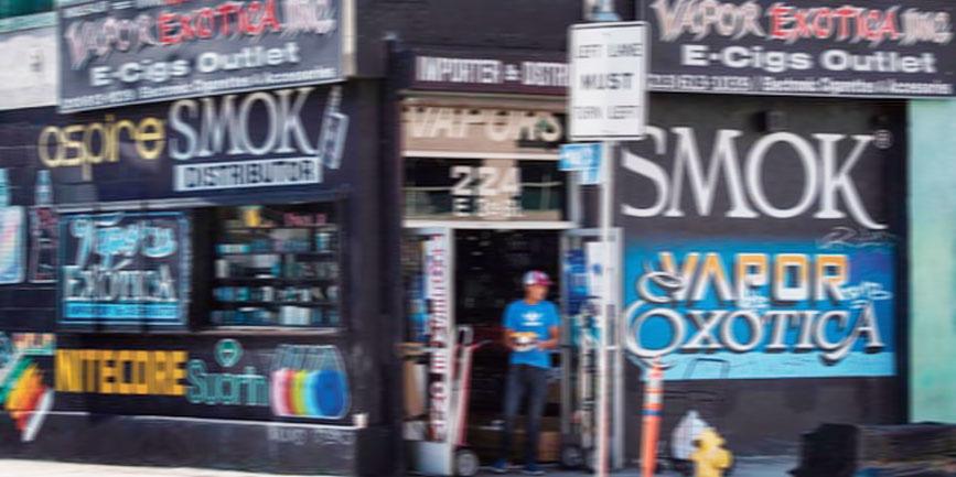 電子タバコの販売店