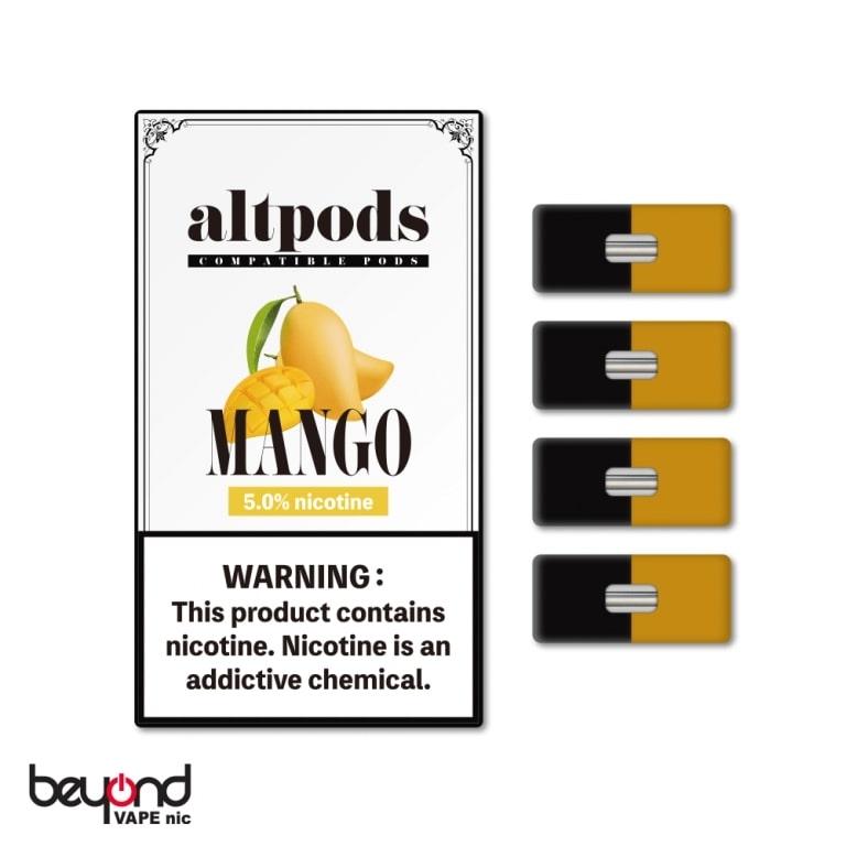 JUUL本体対応ブランド altpods マンゴー ニコチン5%