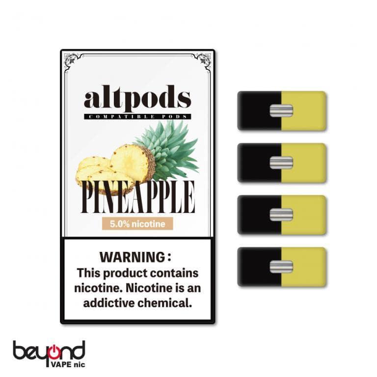 JUUL本体対応ブランド altpods パイナップル ニコチン5%